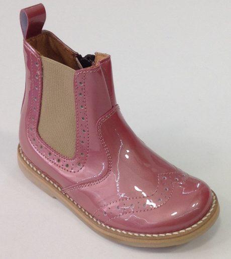 Froddo pale pink patent